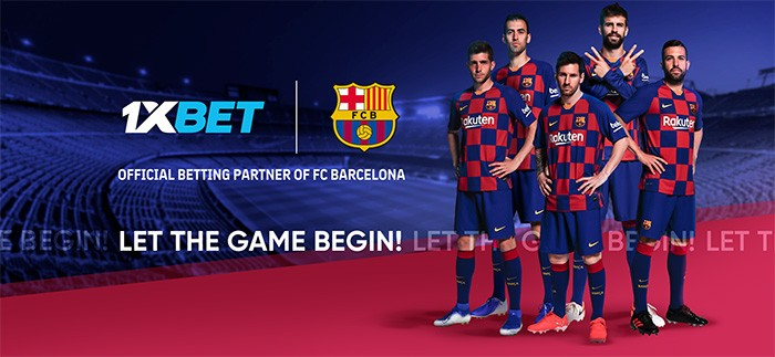 1xBet teams up with FC Barcelona